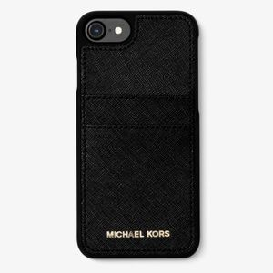MICHAEL KORS Saffiano Leather Phone Case IPhone7/8